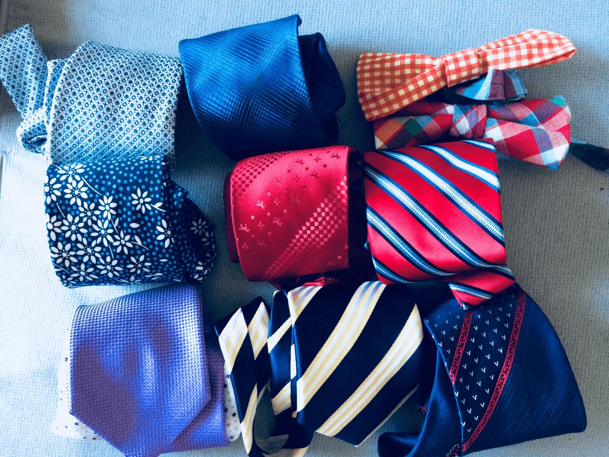 ネクタイを自宅で洗う