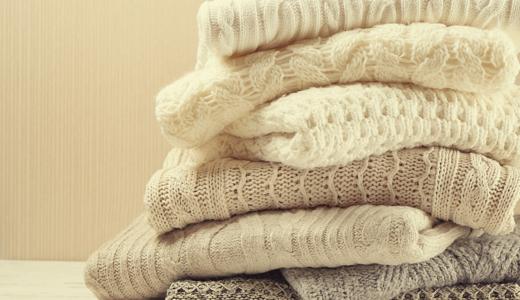 セーターの洗濯で失敗しない5つのコツと洗剤・柔軟剤の選び方