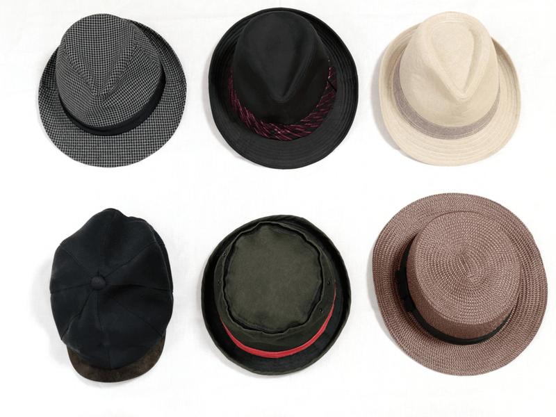 帽子の素材に分けて解説