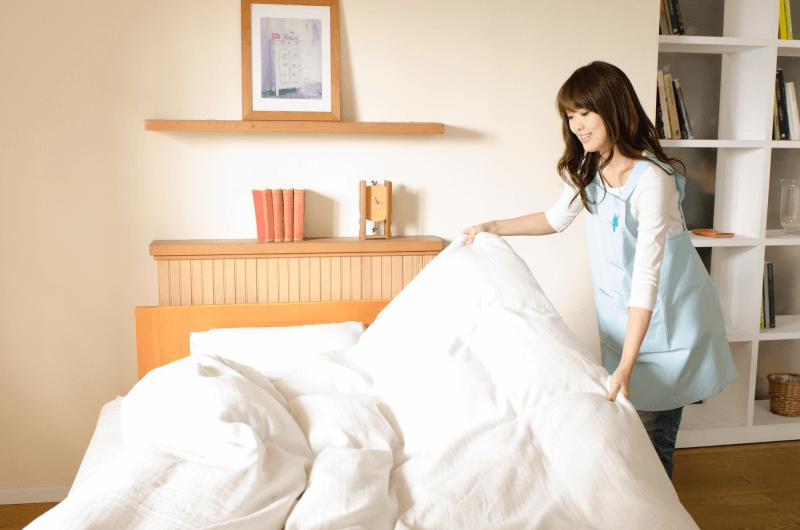 羽毛布団を自宅で洗濯するときの3つのポイント!コインランドリーやクリーニングもおすすめ