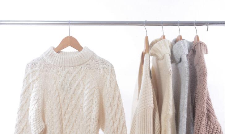 セーターの洗濯方法と洗濯の頻度