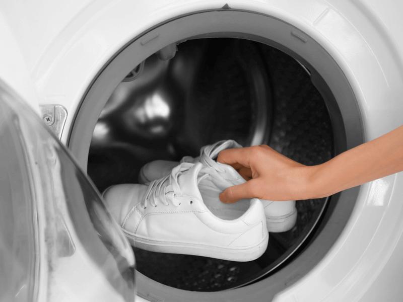 洗濯機で靴を洗おう