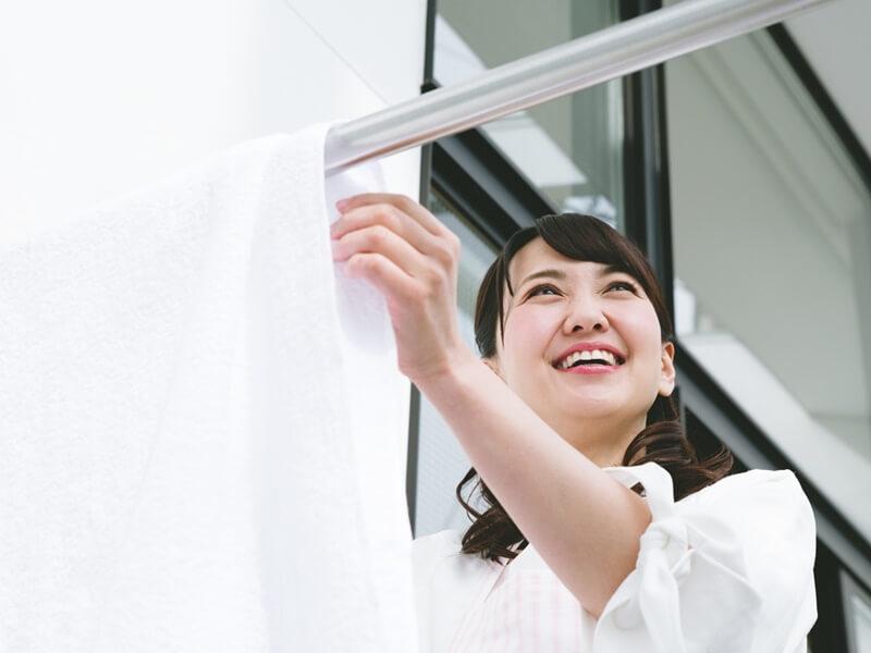 タオルケットの洗濯方法