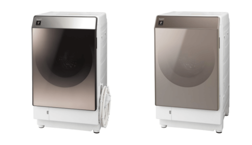 シャープの『プラズマクラスター洗濯乾燥機』は短時間で綺麗を実現!