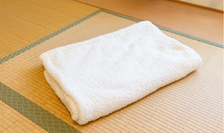 タオルケットを洗濯してふわふわにするコツ