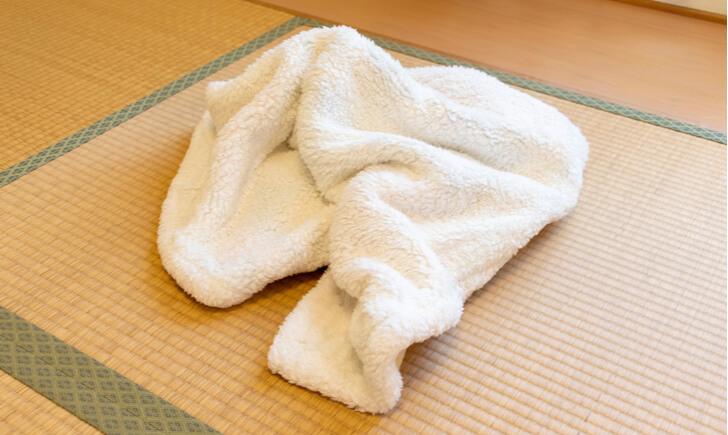 タオルケットを洗濯するときの注意点
