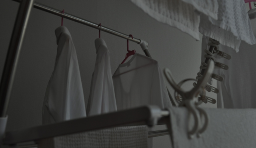 洗濯物を夜に外干しすることのメリット・デメリットを解説!昼間に干せない場合の対処法も
