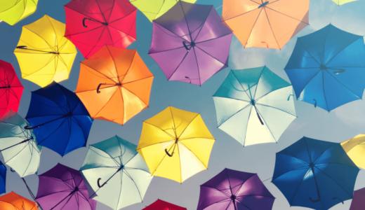 傘を洗うときの8つのポイント!重曹・洗剤を使えば臭いや汚れともおさらば