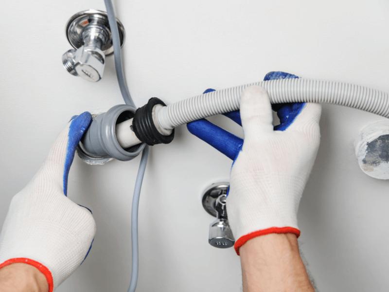 洗濯機の排水ホースの交換方法