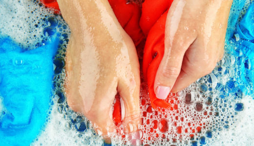 予洗い|洗濯機に入れる前の一手間で汚れと臭いを残さない!