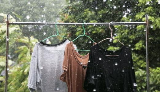 雨よけ洗濯物テントのおすすめ3選!これさえあれば雨の日でも外に干せる