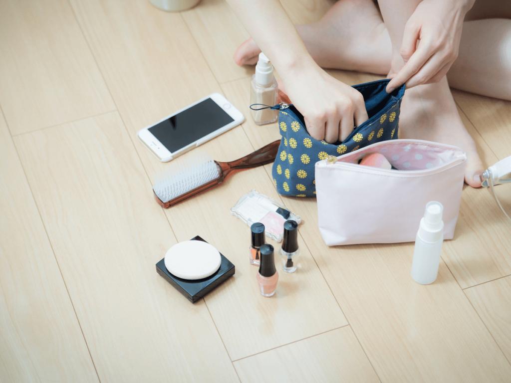 覚えておくと便利!化粧ポーチの洗い方