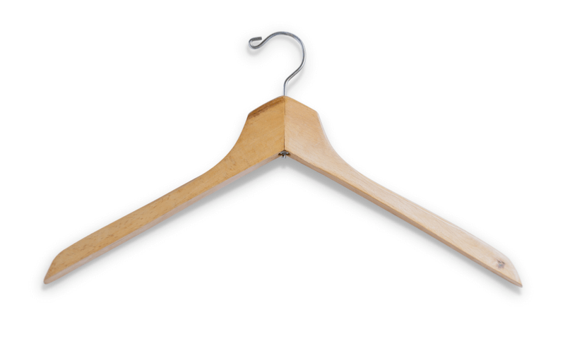 シャツの干し方のポイント