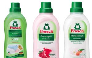 天然成分で衣類にも優しいFrosch(フロッシュ)の柔軟剤