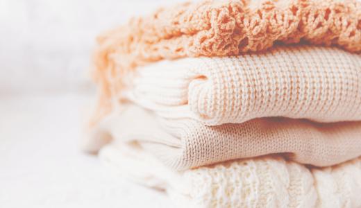 アクリル素材はウールよりお手ごろ?その特徴やおすすめの着用季節について