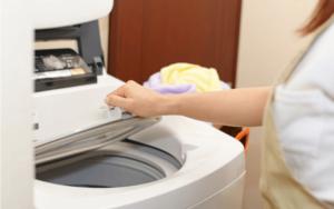 ユニフォームの洗濯の方法