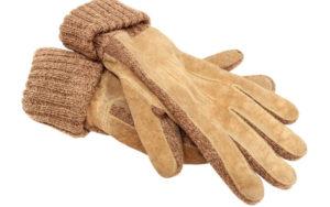 手袋,スエード