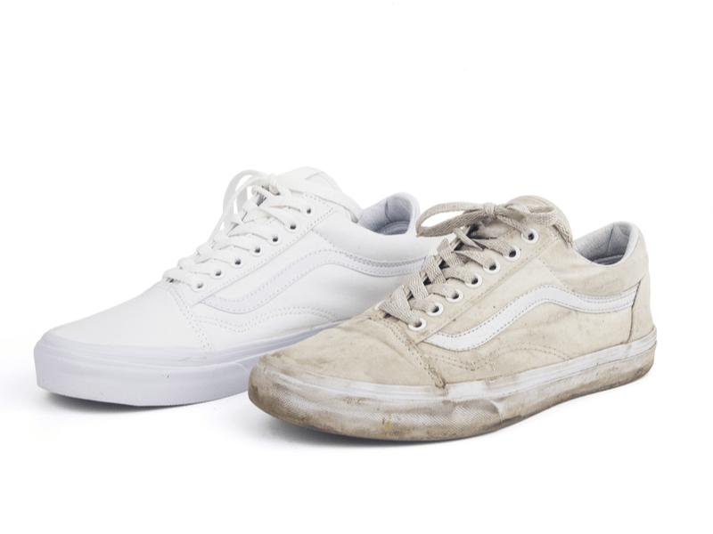 靴の汚れ・上履きの汚れ