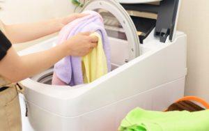 こたつ布団を自宅で洗う方法
