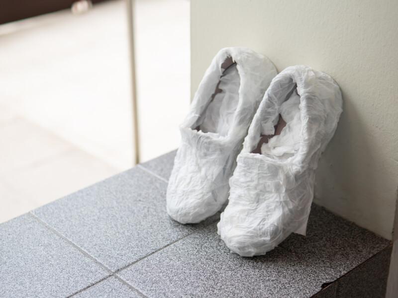 手洗いした靴を早く乾かす方法