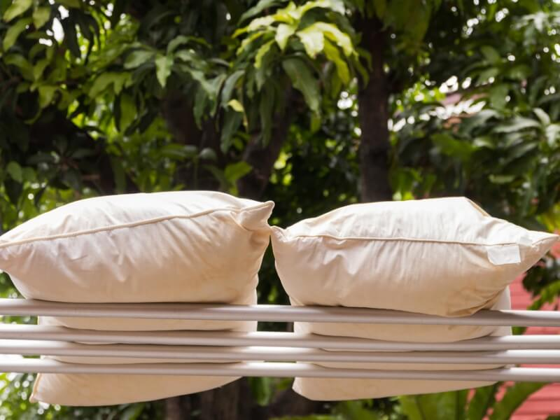 枕を自宅で洗濯&乾燥させる方法