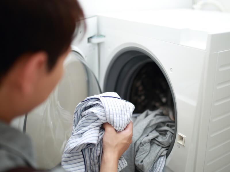 男性 洗濯機
