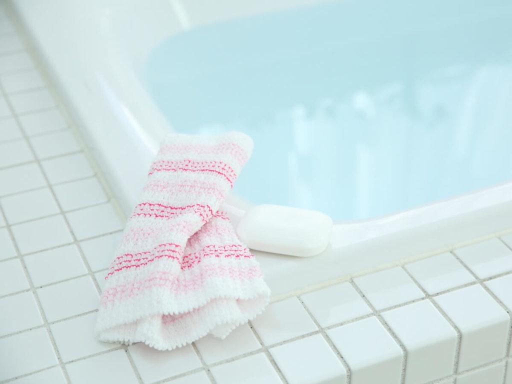 ボディタオルは洗濯するもの?お風呂場洗浄では汚れが落ちていないかも!