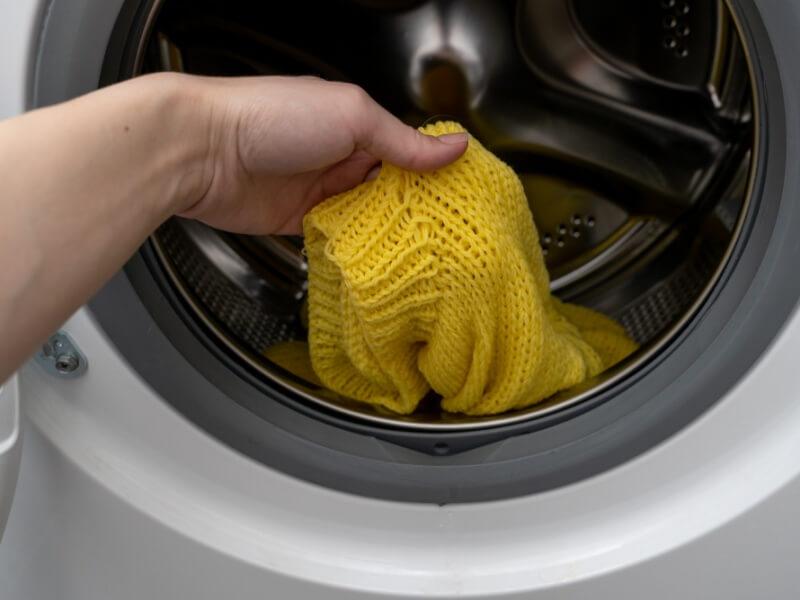 ニット 洗濯機