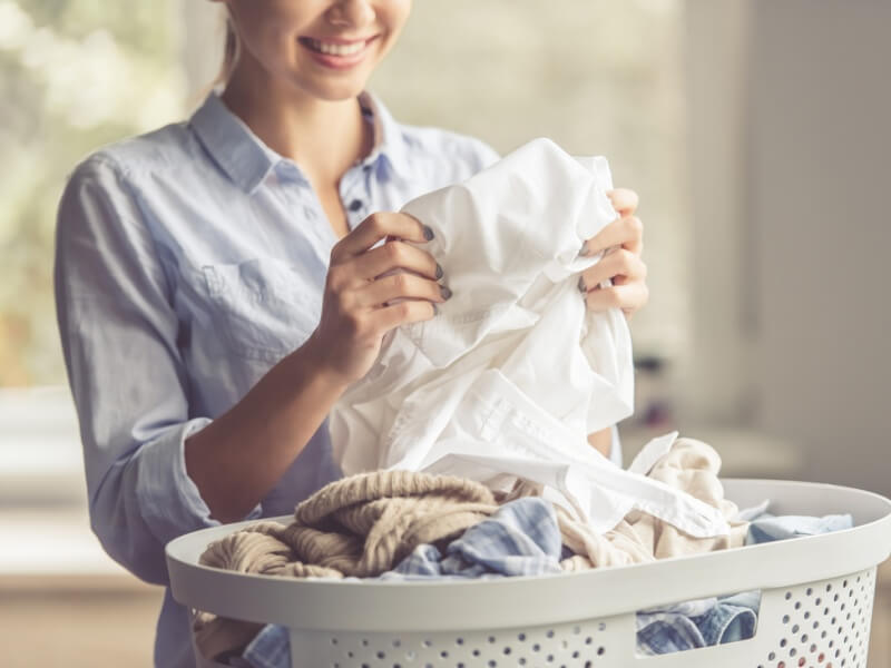 秋 快適な洗濯