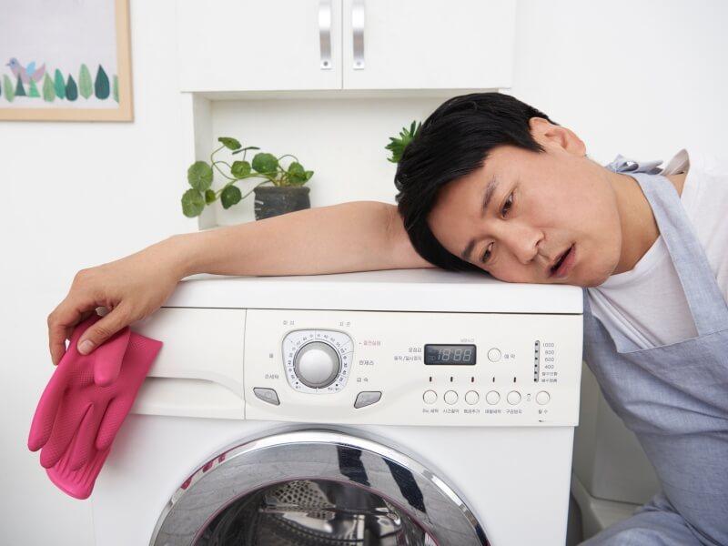 ドラム式洗濯機 掃除