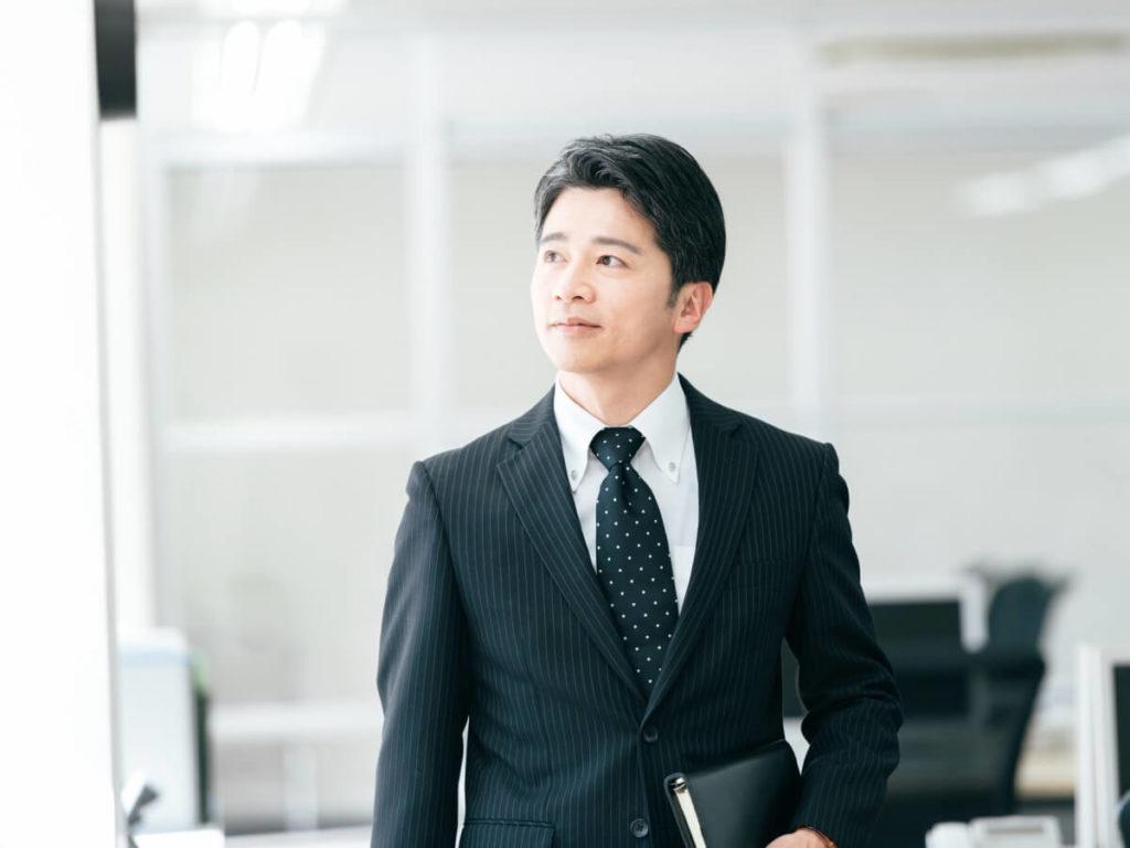 スーツ ビジネスマン