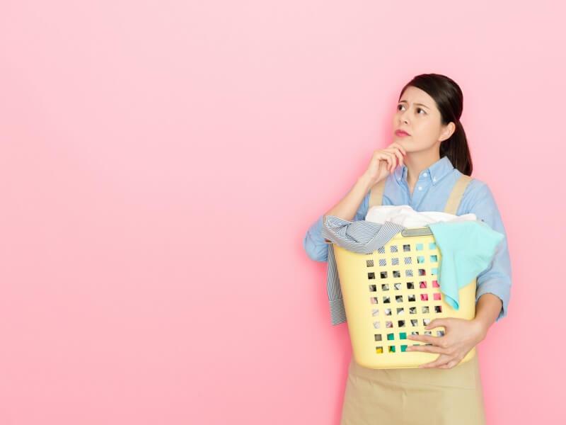 洗濯物の汚れ 疑問