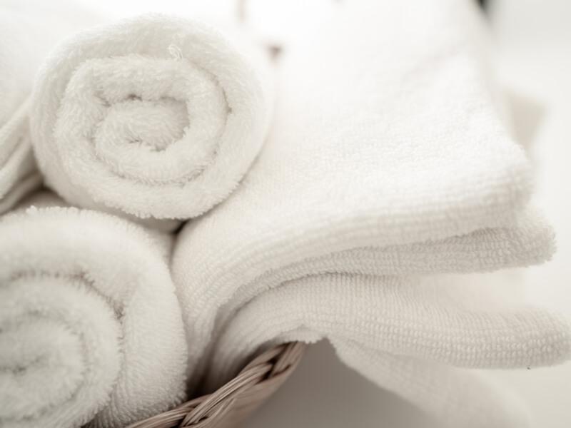 ふわふわのタオル