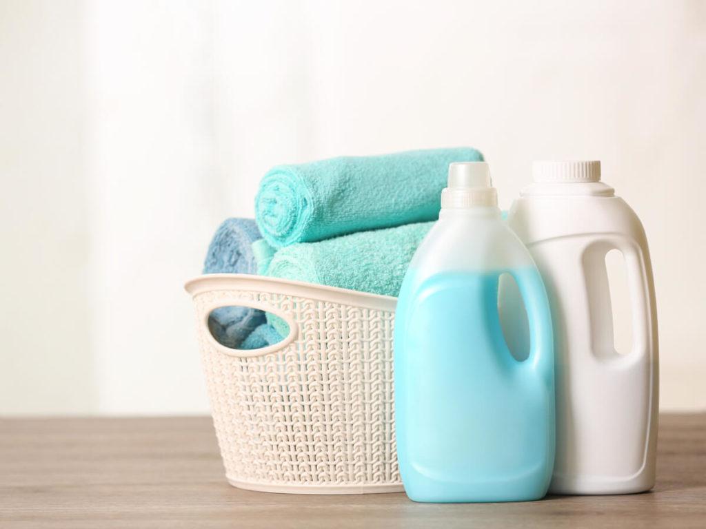 洗濯洗剤と柔軟剤