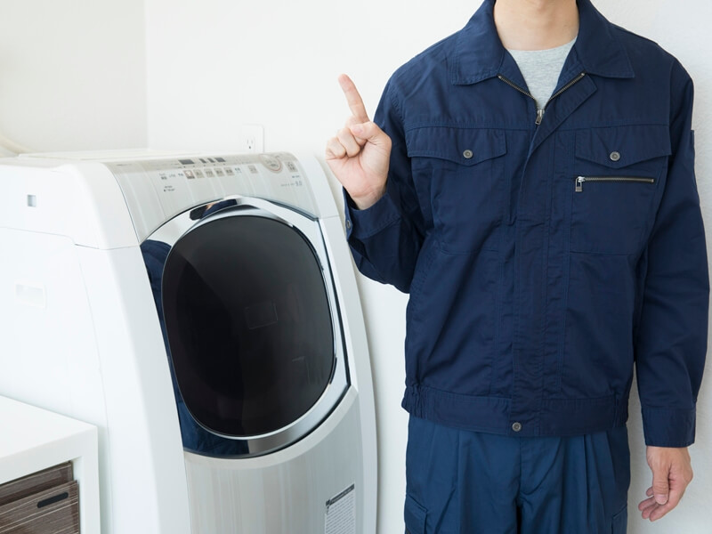 洗濯機に排水トラップがないときの対処法