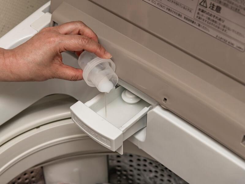 洗濯洗剤を入れるケース