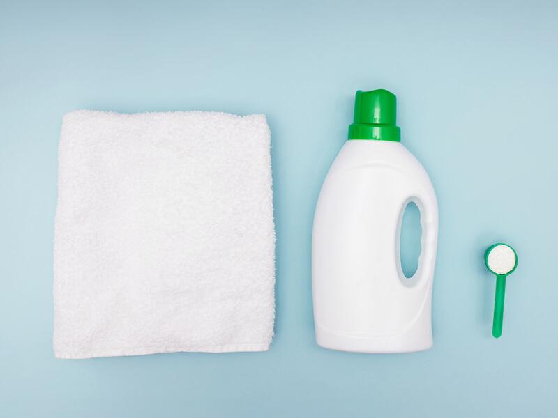 タオルと洗剤