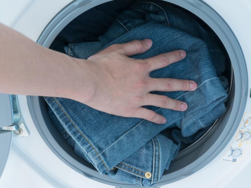デニム 洗濯機