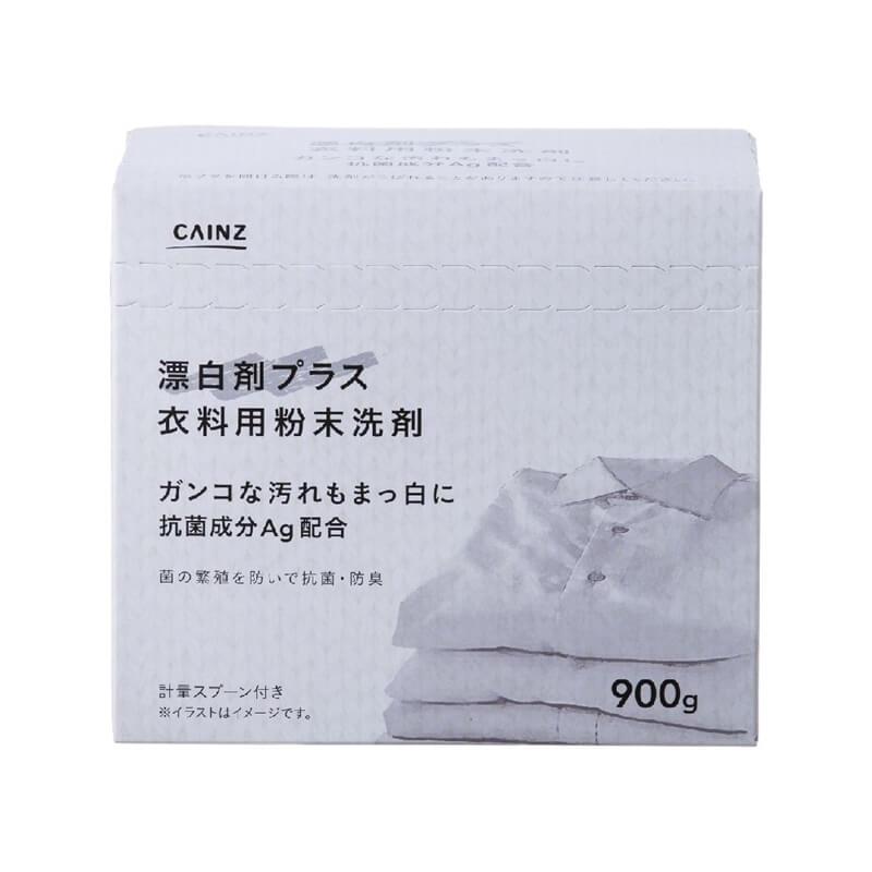 衣料用粉末洗剤 漂白剤プラス 抗菌成分Ag配合 900g