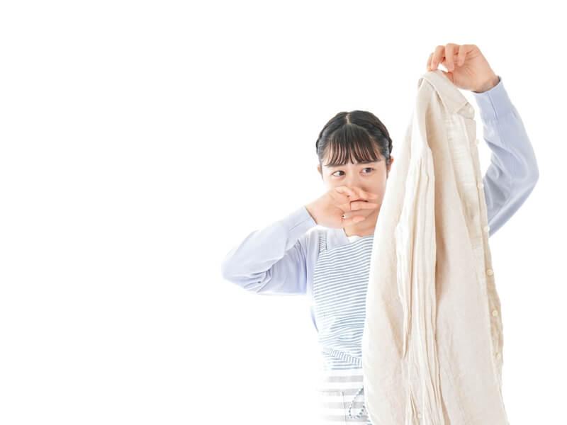 洗濯物が生乾きで臭い