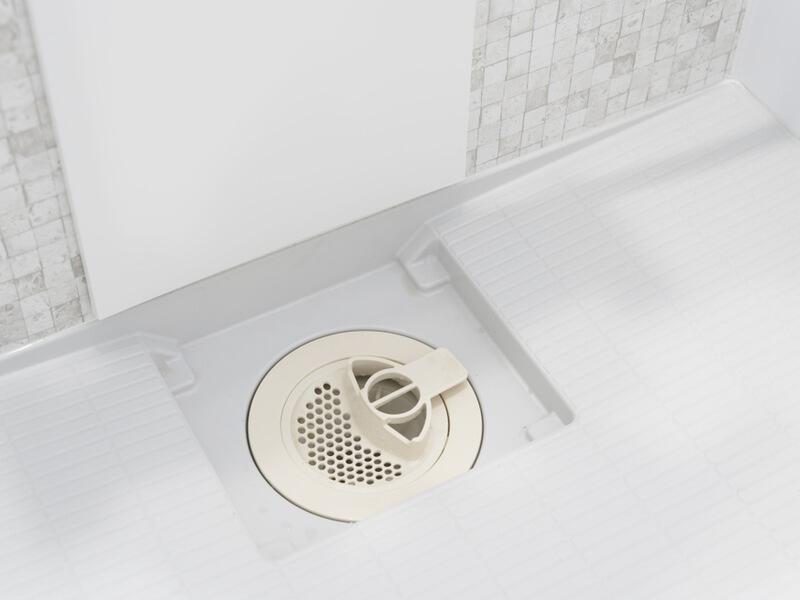 お風呂場 排水溝 掃除