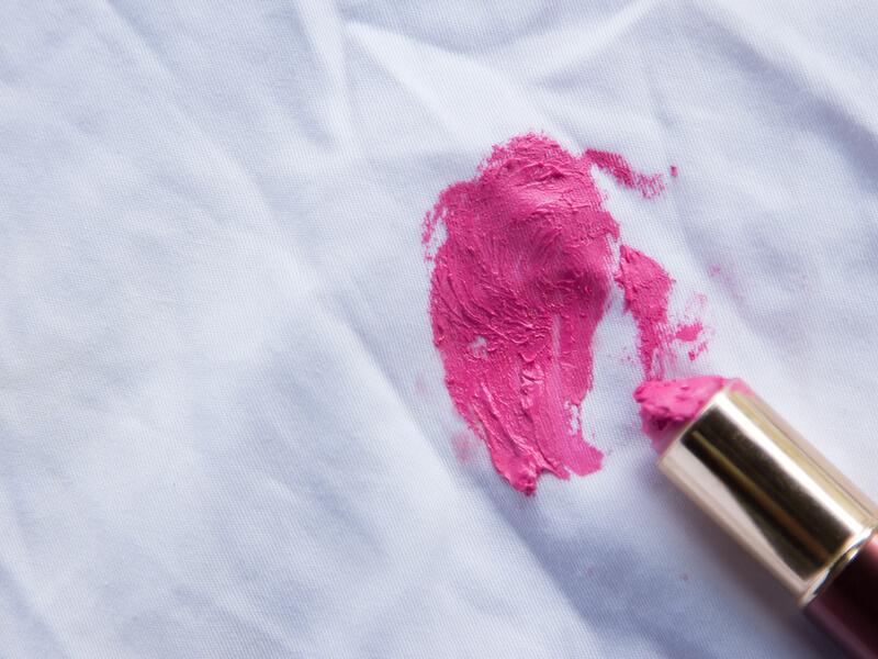 化粧品汚れ