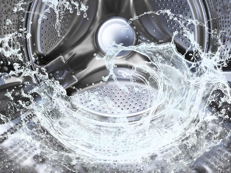 洗濯槽の水
