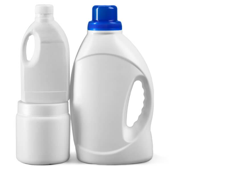 漂白剤と掃除用洗剤