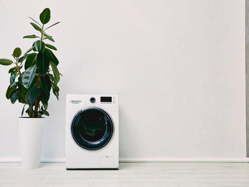 自宅 洗濯機