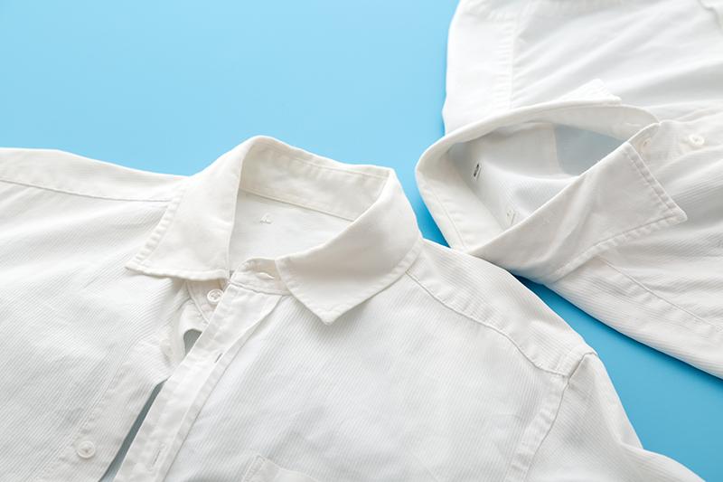 白い衣類についた色移りを落とす洗い方・落とし方