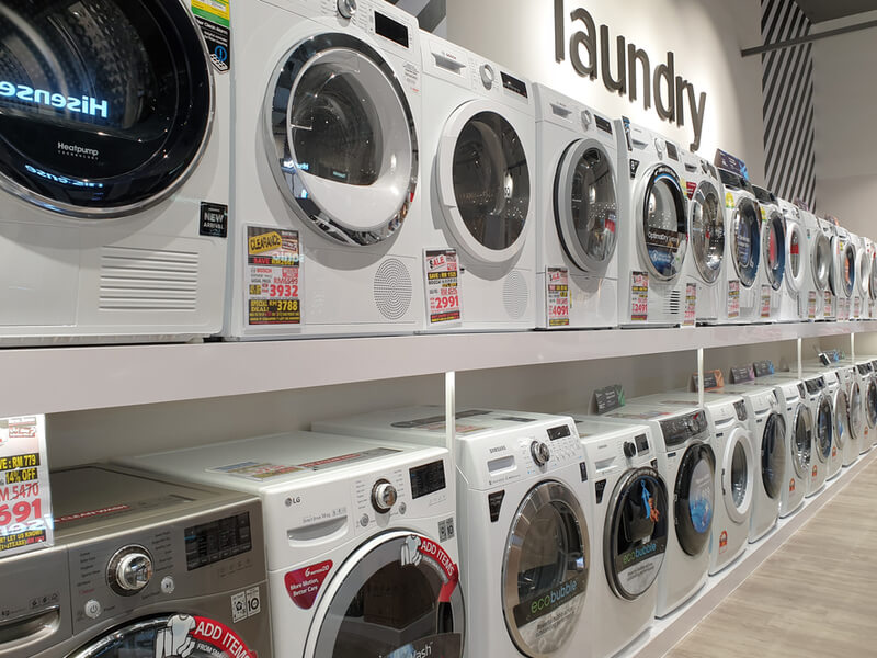 家電量販店 洗濯機