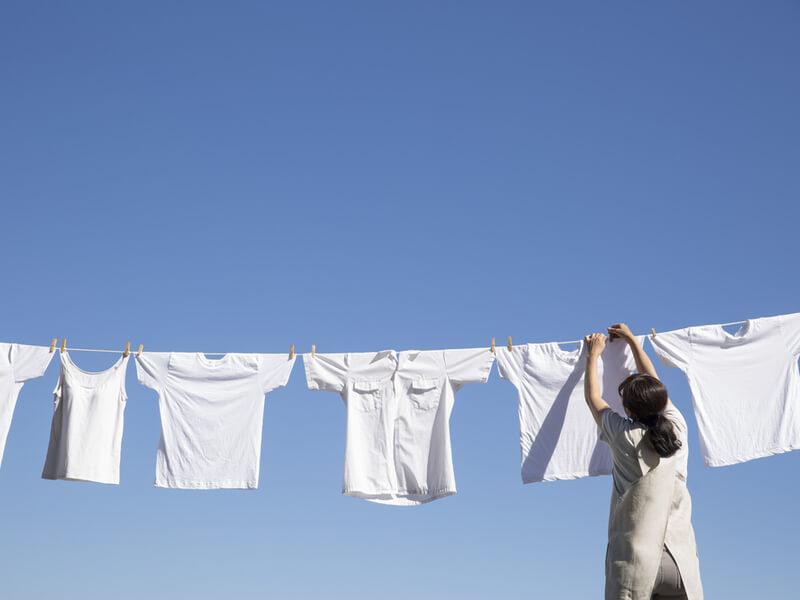洗濯 天気が良い
