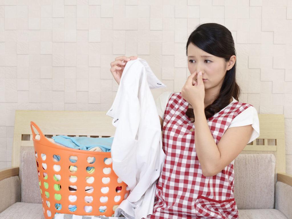 洗濯 臭う