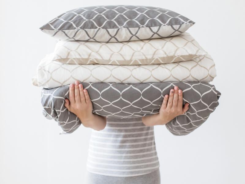 洗えない素材の枕はどうすればいい?